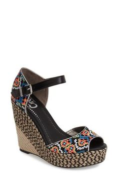 Circus by Sam Edelman 'Sutton' Platform Wedge Sandal (Women) available at #Nordstrom