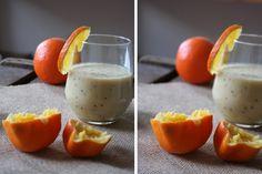 Fruchtiger Muntermacher {Kiwi-Orangen-Smoothie} - Kochkarussell