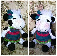Crocheted cow snuggle buddy found on etsy@ memawscountrycrafts