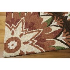 """Nourison Suzani SUZ02 Hand-tufted Area Rug - On Sale - Overstock - 7599401 - 2'3"""" x 8' Runner - Teal Teal Rug, Area Rugs For Sale, Brown Furniture, Red Accents, Home Decor Trends, Memorable Gifts, Online Home Decor Stores, Outdoor Rugs, Persian Rug"""