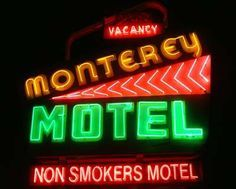 Monterey Motel - neon sign (Route 66, Albuquerque, NM)