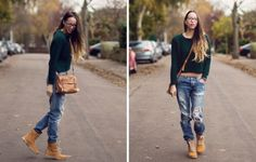 Timberland Boots For Women With Jeans