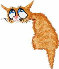 "Free embroidery design ""Cat nostalgic"" Cat nostalgic free machine embroidery design. Digitizer and artist: JBLON You also may like embroidery"