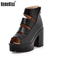 women platform gladiator ankle strap high heel sandals fashion sexy ladies brand heeled footwear heel shoes size 34-43 P18775