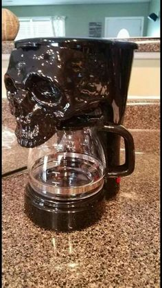 Skull coffee maker