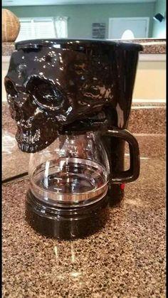 Skull coffee maker