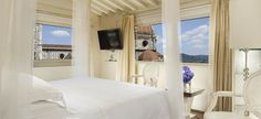 Double Bedroom at Hotel Brunelleschi, Florence, Italy