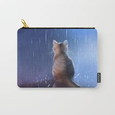 under rainy days like these Carry-All Pouch