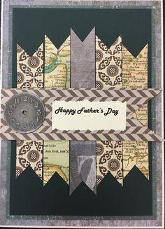 Father's Day handmade card by Yvonne of Elegant Inkz.