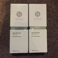NERIUM Age-Defying cream Night and day age cream! If you haven't heard of it really look into it. Nerium Makeup