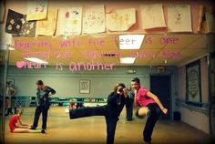 Dancing with the feet is one thing, but dancing with the heart is another. <3