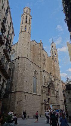 Santa Maria del Mar, Barcelona (Catalonia)