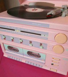 pink, music, and pastel Bild