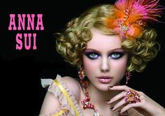 Frida Gustavsson for Anna Sui Spring/Summer 2011