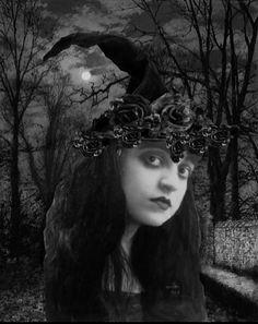 Beautiful Moon, Mystic, Witch, Statue, Painting, Jewelry, Women, Art, Fashion