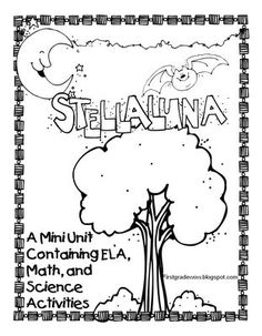 First Grade Wow: Stellaluna Saves the Day! Unit on nocturnal animals/bats