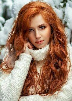 Red hair - love it!