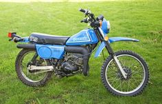 1981 Suzuki TS100 - was a fun bike - I bought it from a woman I knew for $300 and  eventually someone stole the engine from it  while it was parked in the alley next to the Harcourt.  I came out one morning to find a heap of nuts and bolts.