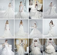 Spectacular #Wedding #Dress Collection: Michael Cinco  #wedding_dress  See more details: http://blog.modwedding.com/spectacular-wedding-dress-collection-michael#