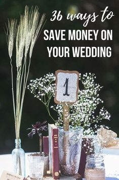 Weddings are EXPENSIVE. So you can use all the cheap wedding ideas you can get! With these ways to save money on your wedding, you'll save thousands! #savemoney #wedding #weddings #weddingplaning #budgetwedding #cheapwedding