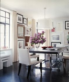 Dining Room On Pinterest Tables Rooms And Banquettes