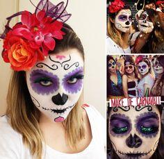 Make de carnaval: o passo a passo da minha caveira mexicana! » Chata de Galocha! | Lu Ferreira