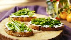 Get Tiffani Thiessen& Grilled Ciabatta with Ricotta and Snap Peas Recipe from Cooking Channel Healthy Grilling Recipes, Recipes Appetizers And Snacks, Great Appetizers, Pea Recipes, Summer Recipes, Ricotta, Pain Ciabatta, Snap Peas Recipe, Snap Pea Salad