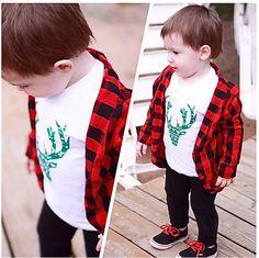 Holiday Shirt - Elk - Christmas Awesomeness.