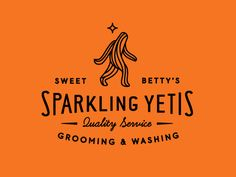Logos / Sweet Betty\'s Sparkling Yetis  love that Yeti- the 'best quest' of childhood