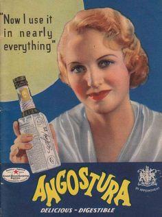 Angostura Bitters vintage advert