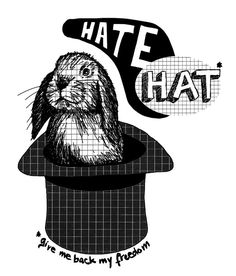 """Tote Bag collection """"Hate Hat"""""""