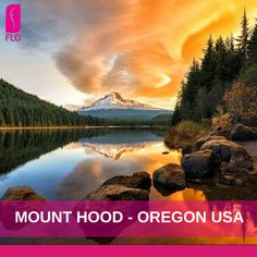 Travel inspiration: Mount Hood, Oregon, USA #travel #life #escape #view #evasion #GoWithFLO
