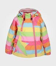 Molo Hopla Jacket Girly Rainbow