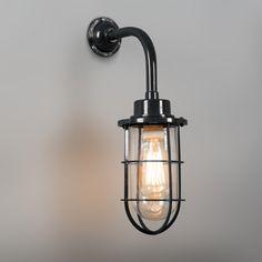 Wandlamp Port zwart - Lampenlicht.be