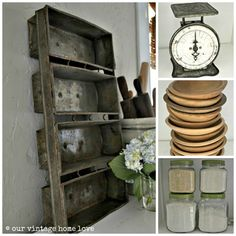 love this blog - so many DIY tips and ideas including tutorials on a vintage home look on a budget