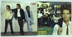 Huey Lewis and the News Lot of 2 #Vinyl Record Albums- Sports and Fore! EX