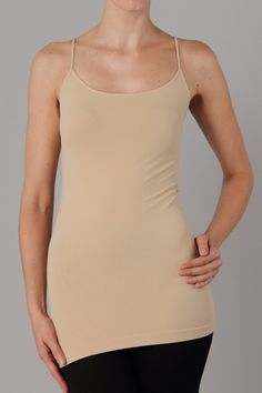 seamless slimming cami - layering camisole