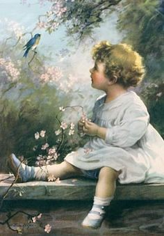 """Katie - I have this one in a picture.  #3  """"Song of the Bluebird"""" by Zula Kenyon"""