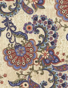 Mood Swings Jacobean JT-C1990 Multi - Timeless Treasures - Cotton Quilting Fabric - By the Yard by MoonaFabrics on Etsy https://www.etsy.com/listing/184253207/mood-swings-jacobean-jt-c1990-multi