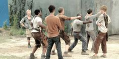 """And Newt be like.....""""DANCE YOU BLOODY SHANKS!"""""""