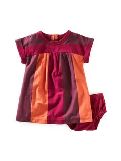 Girls Ancho Stripe Dress & Bloomer Set by Tea Collection on Gilt.com