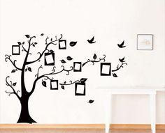 ufingodecor foto in bianco albero cornice muro adesivi murali camera da letto soggiorno adesivi da