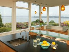Photo of Coastal Kitchen project in Tacoma, WA by Signature Design & Cabinetry