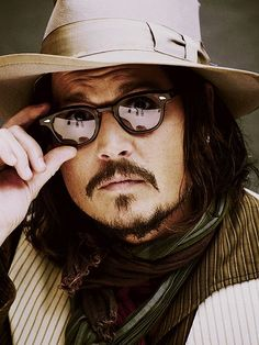 Johnny Depp glasses! #optometry #celebrity