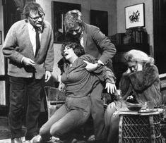 """¿Quién le teme a Virginia Woolf?"" (""Who's Afraid of Virginia Woolf?"", 1966). Dir. Mike Nichols. Stars:  Elizabeth Taylor, Richard Burton, George Segal, Sandy Dennis."