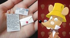 Carta del ratoncito Perez