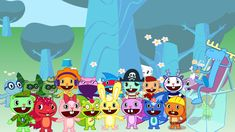 Happy Tree Friends all character by NemaoHTF.deviantart.com on @DeviantArt