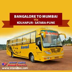 Travel this Summer with cool and comfortable coaches of Anand Travels.  Book online tickets from Bangalore to Mumbai (Via Kolhapur, Satara, Pune) and get flat 5% off on all bus tickets through our online portal. http://www.anandbus.com/e-bookings/16/Bangalore/97/Mumbai ✔2+1 AC Sleeper Coach ✔Backrest ✔Individual TV #Bangalore #Mumbai #Pune #Satara #Kolhapur #OnlineBus #Bus