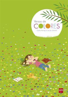 Un libro para primeros lectores con 30 poemas sobre los colores en el que a cada poema se le dedica una doble página ilustrada.
