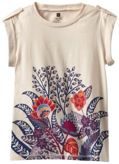 Tea Collection, South Africa flowers tee. Sad. Children's sizes only.